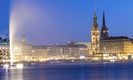 Hamburg: 2 or 3 Nights for Two with Breakfast, Harbour Cruise and Option for Dinner at Apartment Hotel Hamburg Mitte