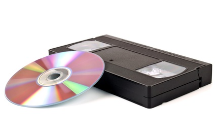 3 or 5 Video-to-DVD Transfers at Home Movie Preservation Center (Up to 53% Off)