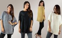 GROUPON: Women's Oversized Faux Fur Top Women's Oversized Faux Fur Top