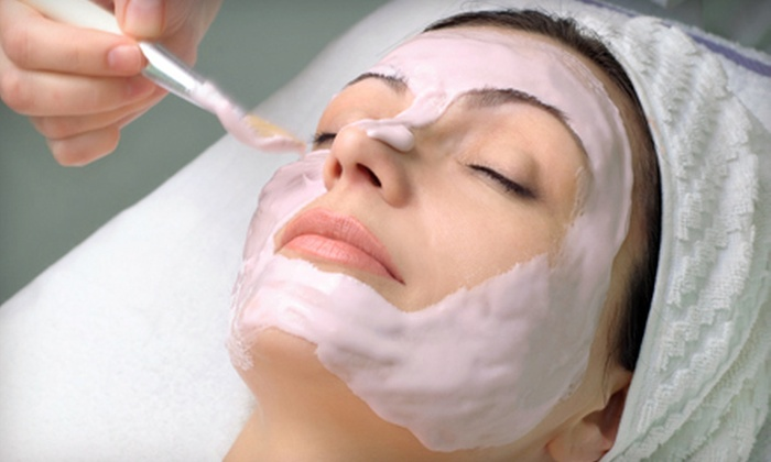 Therapeutic Skin Treatment - Oyster Point : One or Three Exfoliating Facials or One Skin-Resurfacing Facial at Therapeutic Skin Treatment (Up to 70% Off)