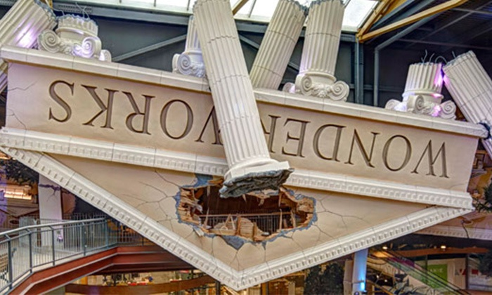 WonderWorks Syracuse - Syracuse: $32 for Two General Admission Tickets and a Souvenir Adventure Book at WonderWorks Syracuse ($58.25 Value)