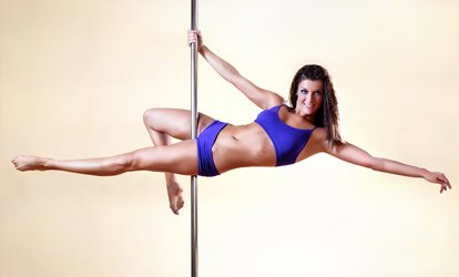 Intro to Pole-Dance for One or Two or Pole-Dance Party for Up to 12 from Flight <strong>Fitness</strong> Studio (Up to 64% Off)