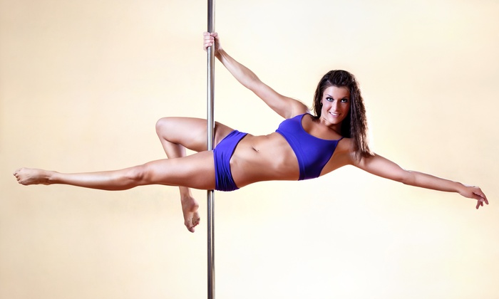 Flight Fitness Studio - Palatine: Intro to Pole-Dance for One or Two or Pole-Dance Party for Up to 12 from Flight Fitness Studio (Up to 66% Off)