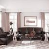West Hampton 3-Piece Leather Living Room Set