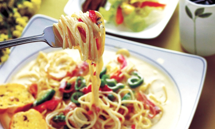 Café Pasta + Grille - Old Irving Park: $20 for Two Groupons, Each Good for $20 Worth of Italian Dinner Cuisine at Café Pasta + Grille ($40 Total Value)