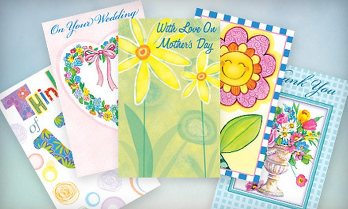 Assorted Greeting-Card Bundle: $15 for Thirty Assorted Greeting Cards and Envelopes (Up to $82 Value)