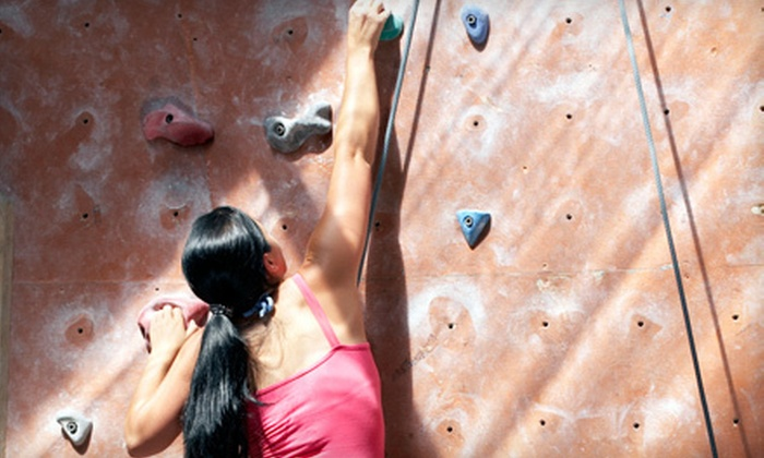 Peaks Indoor Rock Climbing - Queenston: $39 for a Beginner Lesson and One-Month Membership at Peaks Indoor Rock Climbing (Up to $105 Value)