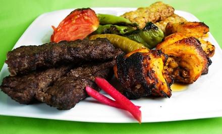Mediterranean Buffet for Two or Four or $18 for $30 Worth of Mediterranean Food at AliBaba House of Kabob