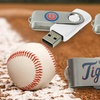 Up to 75% Off MLB Swivel Flash Drives