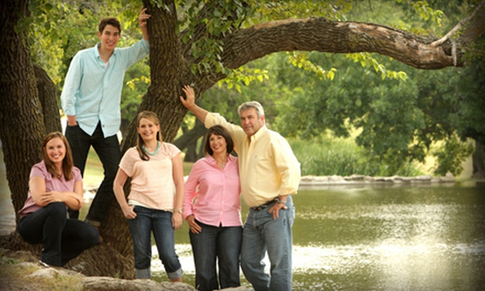 Christopher Clark Designer Portraits - Downtown Wichita: Senior or Family Portrait Package Including Prints from Christopher Clark Designer Portraits (Up to 90% Off)
