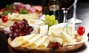 Sharing Platter With Wine For Two