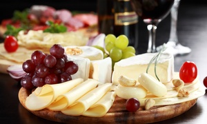 Pall Mall Fine Wine: Charcuterie and Cheese Sharing Platter With Bistrot Wine For Two for £14 at Pall Mall Fine Wine (48% Off)