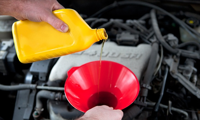 Fletcher's Tire and Auto Service - Multiple Locations: Three Oil Changes or One Air-Conditioning Service at Fletcher's Tire and Auto Service (Up to 77% Off)