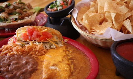 $9 for $18 Worth of Contemporary Mexican Food at Primas Mexican Grill