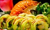 DAO Sushi and Thai Restaurant - Little Palestine: $15 for $30 Worth of Asian Dinner Cuisine at Dao Sushi and Thai Restaurant in Burr Ridge. Two Options Available.