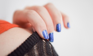 East Town Spa: Express Mani-Pedi or Shellac Manicure at East Town Spa & Salon (Up to 52% Off)