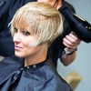 Up to 58% Off Haircut with Highlights or Color