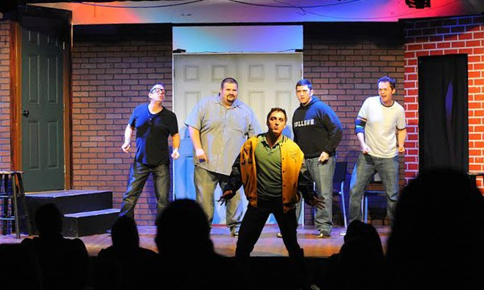 Sak Comedy Lab - SAK Comedy Lab: Improv Comedy Show Including Beer or Wine for Two at Sak Comedy Lab, April 5–July 26 (Up to Half Off)