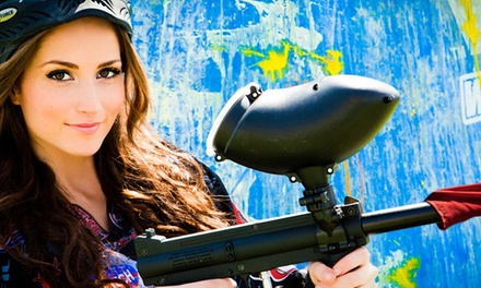 All-Day Paintball Package with Equipment Rental for Up to 4, 6, or 12 at Paintball International (Up to 82% Off)
