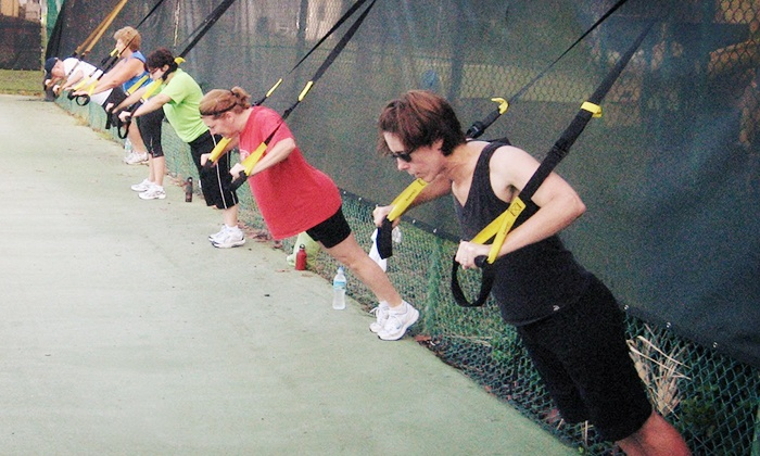TRX Training Bootcamp - Plantation: 10 or 20 Sessions of TRX Boot Camp or TRX On-Court Tennis Training at TRX Training Bootcamp (Up to 56% Off)