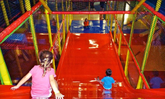 Play au Lait - Dadeland: Kids' Play Visits at Play au Lait (Up to 56% Off). Four Options Available.