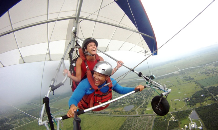 The Florida Ridge Sports Air Park - The Florida Ridge Sports Air Park: $69 for a Tandem Hang-Gliding Flight Package from Miami Hang Gliding at The Florida Ridge Air Sports Park ($184 Value)