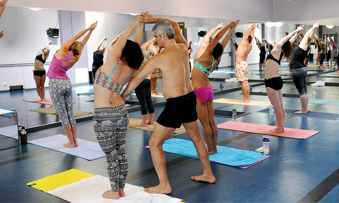 Bikram Yoga West Seattle - Junction: 10 Bikram Yoga Sessions or One Month of Unlimited Yoga at Bikram Yoga West Seattle (Up to 78% Off)