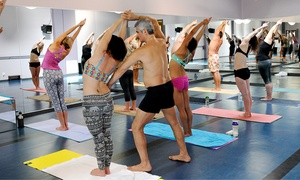 Bikram Yoga West Seattle: 10 Bikram Yoga Sessions or One Month of Unlimited Yoga at Bikram Yoga West Seattle (Up to 78% Off)