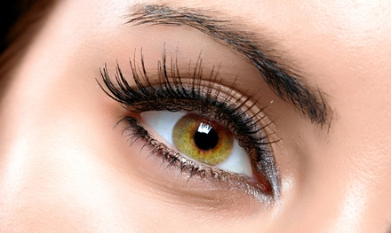 Full Set of Silk Eyelash Extensions or Silk Eyelash Fills at Inspirexoxo (Up to 50% Off)