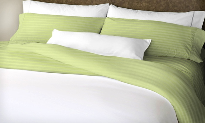 Hotel New York Six-Piece Microfiber-Sheet Set: $30 for a 6-Pc Hotel New York Microfiber Sheet Set ($79.99 List Price). 48 Options Available. Free Shipping and Returns.