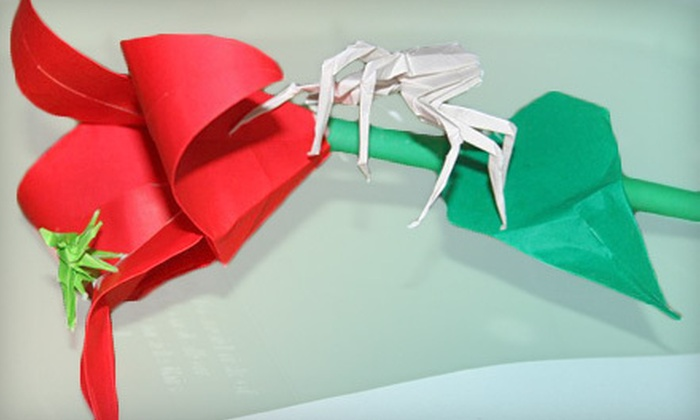 Sherwin's Gallery - Lakeview: Origami Class for One or Two at Sherwin's Gallery (Up to 51% Off)