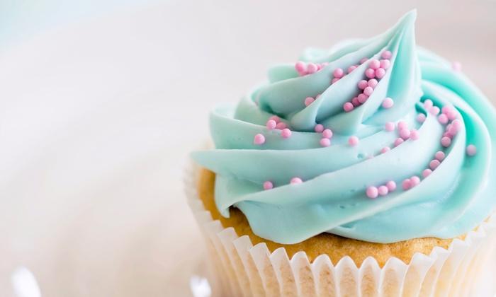 Mika's Cupcakes - Cherryland: Two Dozen Mini Cupcakes or Mini Cheesecake Bites at Mika's Cupcakes (Up to 50% Off)