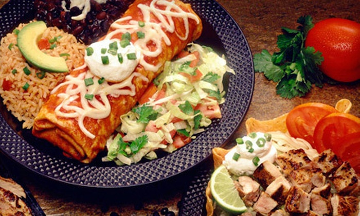 Sabores Mexican Cuisine - Stanford: Mexican Fare for Dinner or Lunch at Sabores Mexican Cuisine in Roseville (Half Off)