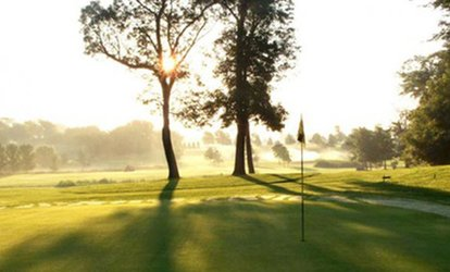 18-Hole Round of <strong>Golf</strong> for Two or Four with Cart Rental at CreeksBend <strong>Golf</strong> Course (Up to 57% Off)