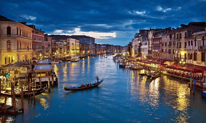 Three-City Italian Vacation with Airfare - Venice: 11-Day Italian Vacation with Airfare, Accommodations, Daily Breakfast, and Train Transportation from Gate 1 Travel