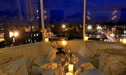$399 for a Three-Course Dinner for Four at the Top of the Newburyport Lighthouse (Up to $900 Value)