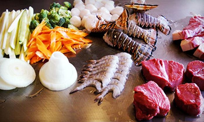 Hokkaido Sushi Hibachi Steak House and Lounge - Oakbrook Terrace: $25 for $50 Worth of Japanese Food and Drinks at Hokkaido Sushi Hibachi Steak House and Lounge