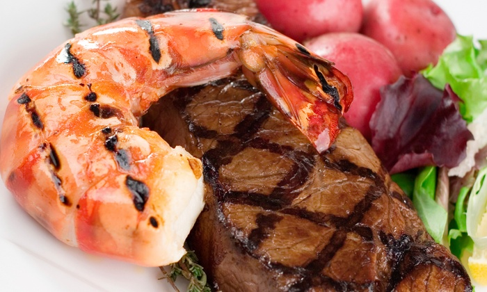 Woody's Wharf - West Newport Beach: Seafood and Steak for Lunch or Dinner at Woody's Wharf (Up to 50% Off)
