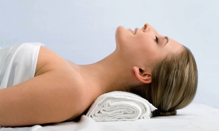 Upper-Body Massage with Hydrating Hand Treatment, or Skin-Brightening Facial at Adonis Spa (69% Off)