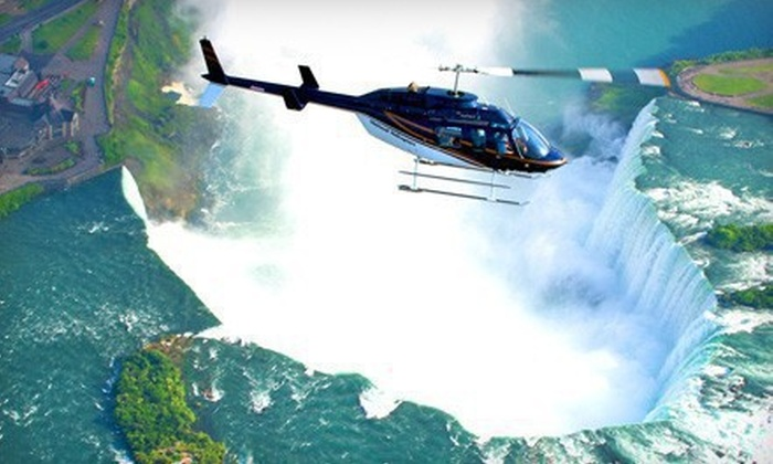 National Helicopters - Niagara District Airport Main Terminal: 20-Minute Niagara Falls Helicopter Tour for One or Two from National Helicopters in Niagara-on-the-Lake (Up to 44% Off)