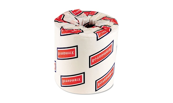 Boardwalk 2-Ply Bath Tissue: Boardwalk 2-Ply Bath Tissue; 96 Rolls