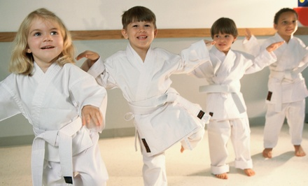 One or Three Months of Kid's Martial Arts or Little Kickers Classes at No Joke Martial Arts (Up to 79% Off)