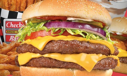Champ Burgers at Checkers (Up to 50% Off)