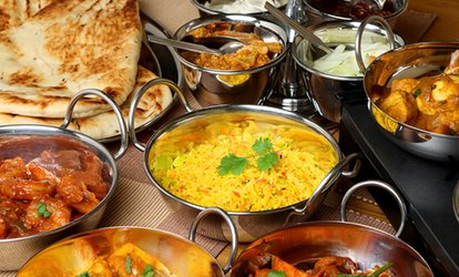 image for €40 Toward Food and Drinks at Spice of India (50% Off)