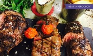 El Rodizio: 600 g gemischte Fleischplatte vom Lavastein-Grill inkl. Beilagen für 2 oder 4 Personen im El Rodizio (30% sparen*)