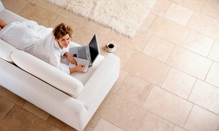 Shineco Cleaning Services - Kitchener - Waterloo: C$179 for Basic Tile and Grout Cleaning from Shineco Cleaning Services (C$500 Value)