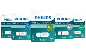 Lecteurs flash USB 3.0 Snow Edition de Philips