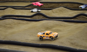 One, Two, or Three 60-Minute Remote-Control Car Racing Sessions at SCV Remote Control (Up to 56% Off)