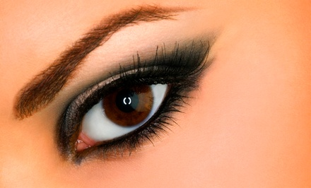 Permanent Eyeliner for Upper and Lower Lids or Permanent Eyebrows at Lisa Wilson- A Makeup Studio (Up to 50% Off)