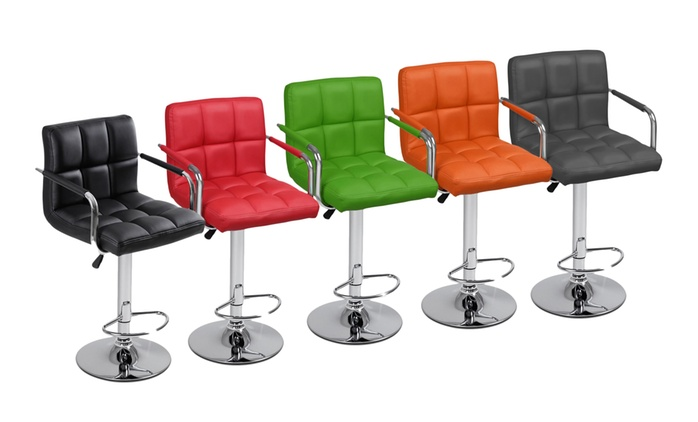 One or Two Bar Stools with Armrest